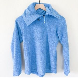 Lole Fleece Pullover High Collard Jacket